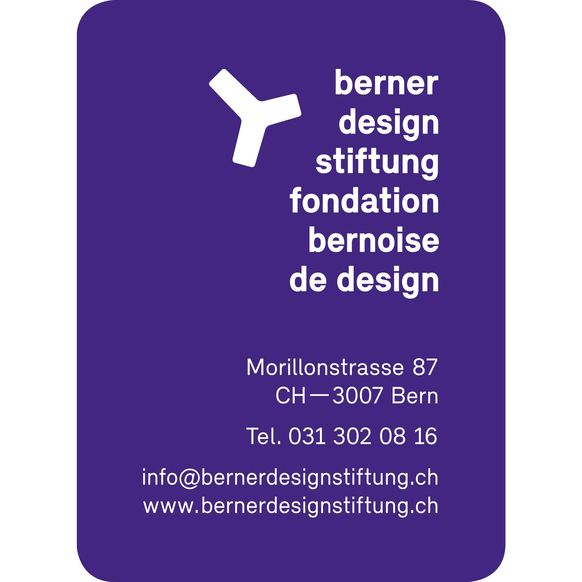 Berner Design Stiftung / 2012 / (link: http://www.bernerdesignstiftung.ch/text: BDS target: _blank)